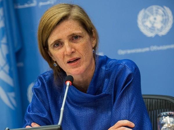 Đại sứ Mỹ tại LHQ, bà Samantha Power