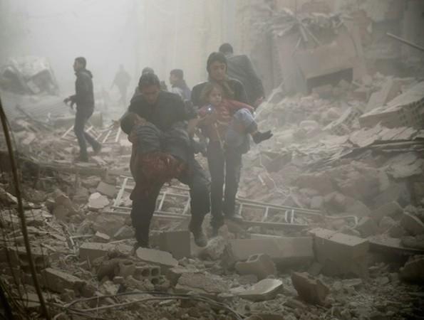 Hàng chục dân thường đã thiệt mạng trong các cuộc không kích vừa diễn ra ở Damacus