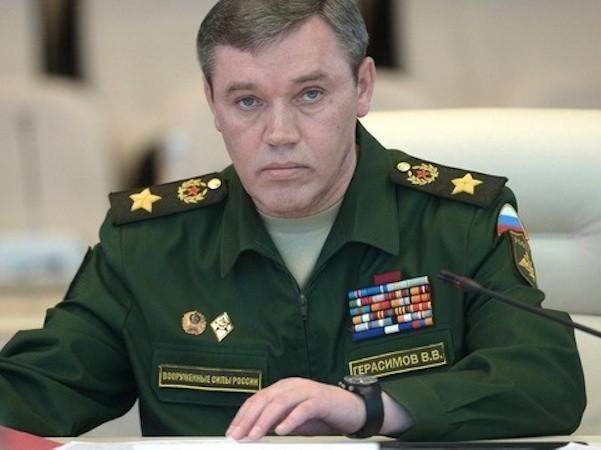 Tổng Tham mưu trưởng quân đội Nga, tướng quân Valery Gerasimov
