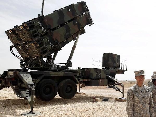 Các tên lửa PAC-3 được sử dụng cho hệ thống tên lửa phòng không Patriot