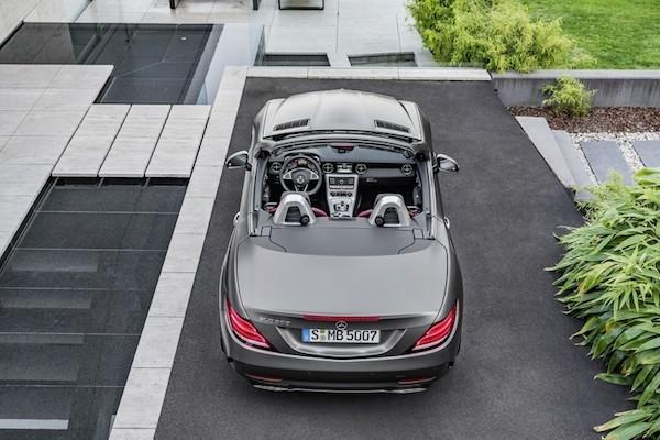 Chiêm ngưỡng ảnh đẹp long lanh của Mercedes SLC 2017 mui trần ảnh 7