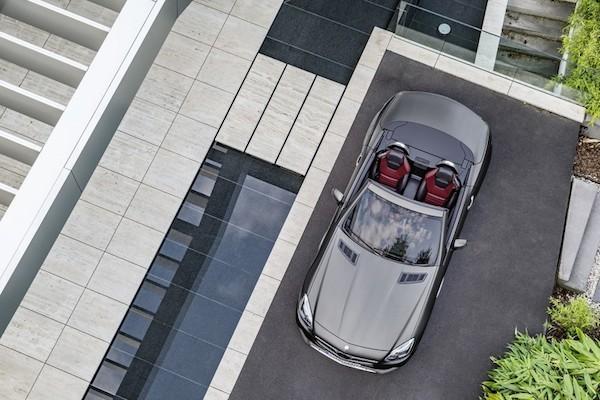Chiêm ngưỡng ảnh đẹp long lanh của Mercedes SLC 2017 mui trần ảnh 9
