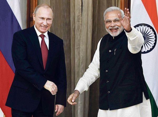 Nga và Ấn Độ là đối tác chiến lược trong nhiều thập kỉ qua