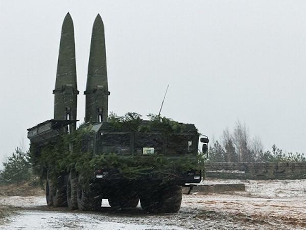 Iskander-M có thể khai hoả được 4 loại tên lửa đạn đạo và một loại tên lửa hành trình