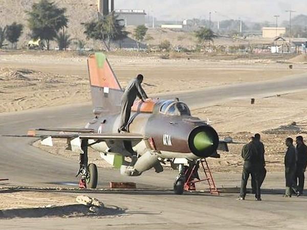 Các máy bay MiG-21 là lực lượng chính của không quân Syria