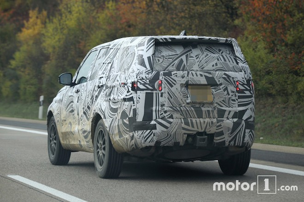 Land Rover Discovery mới chính thức trình làng vào năm 2016 ảnh 2