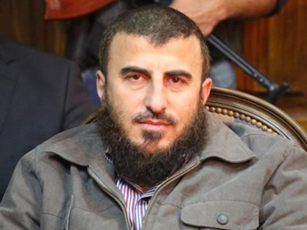 Lãnh đạo nhóm quân đối lập Jaysh al Islam, Zahran Alloush