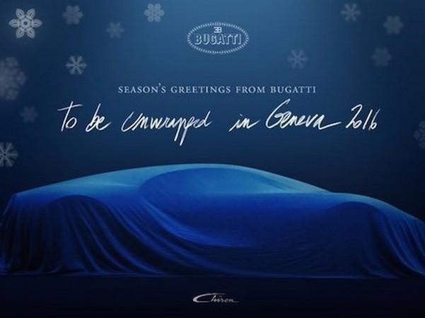 Bugatti Chiron có thể trình làng vào tháng 3-2016