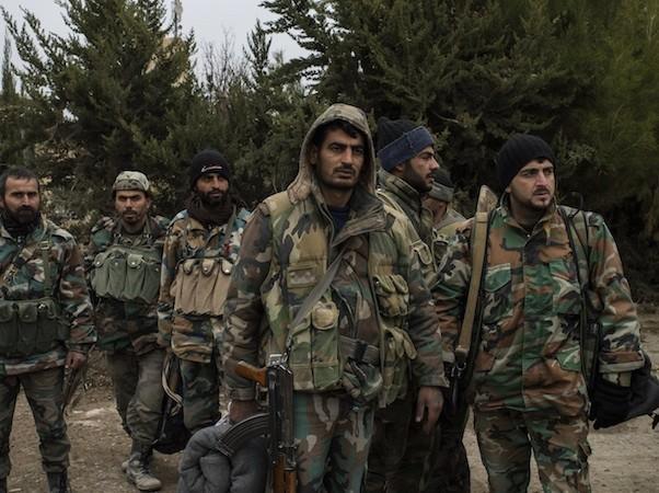 Quân đội Syria đang dồn ép lực lượng khủng bố IS ở Aleppo