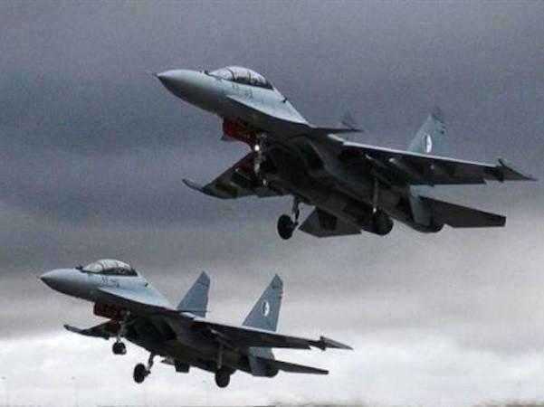 Máy bay Nga vẫn ném bom chống khủng bố không ngừng nghỉ