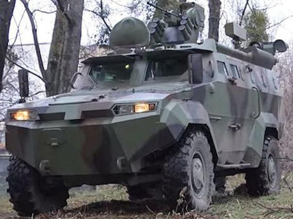 Ukraine thử nghiệm xe bọc thép Triton 4x4 canh giữ biên giới với Nga ảnh 1