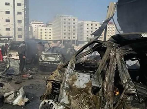 Vụ đánh bom diễn ra cùng thời điểm hoà đàm Syria đang diễn ra ở Geneva