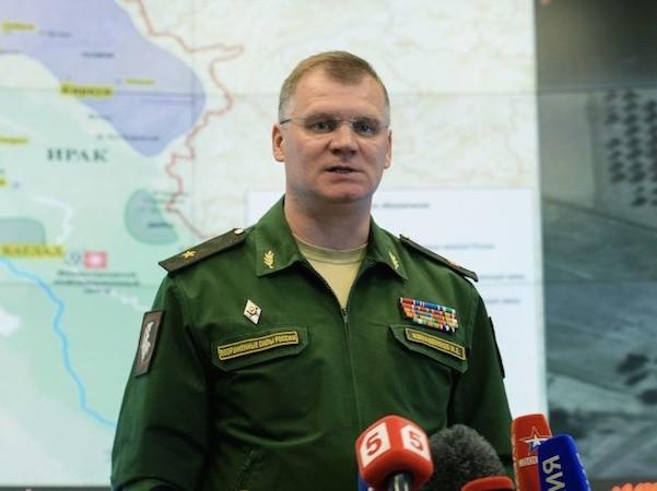Đại diện Bộ Quốc phòng Nga, ông Igor Konashenkov