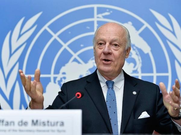 Đặc phái viên của Liên Hợp Quốc, ông Staffan de Mistura