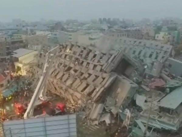 Động đất 6,4 độ richter tại Đài Loan, 5 người thiệt mạng ảnh 1