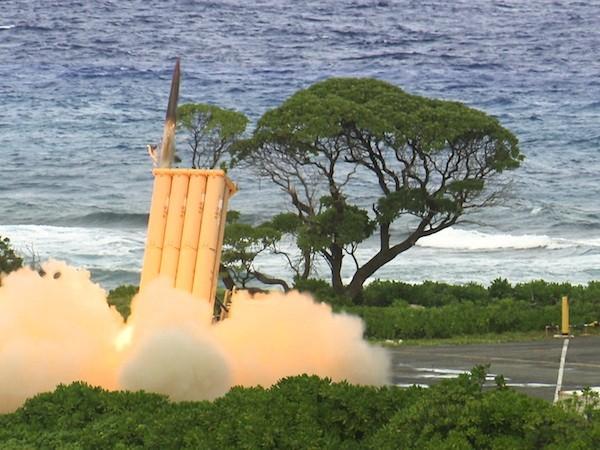 THAAD có thể tiêu diệt mục tiêu ở phạm vi từ 150 - 200km