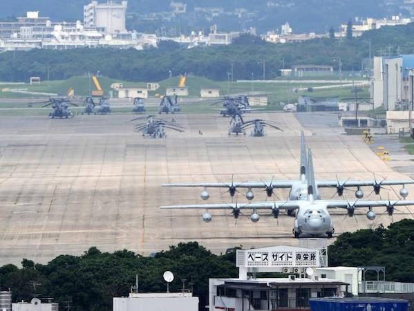 Okinawa là địa điểm đóng quân của phần lớn binh lính Mỹ tại Nhật Bản