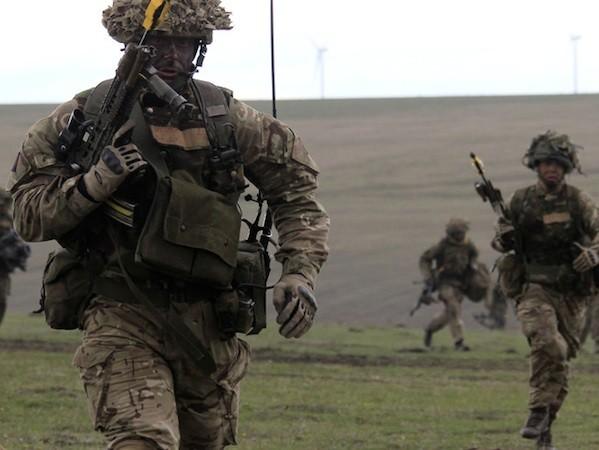 Quân đội Anh sẽ huy động 1.600 binh sĩ trong bài tập trận này