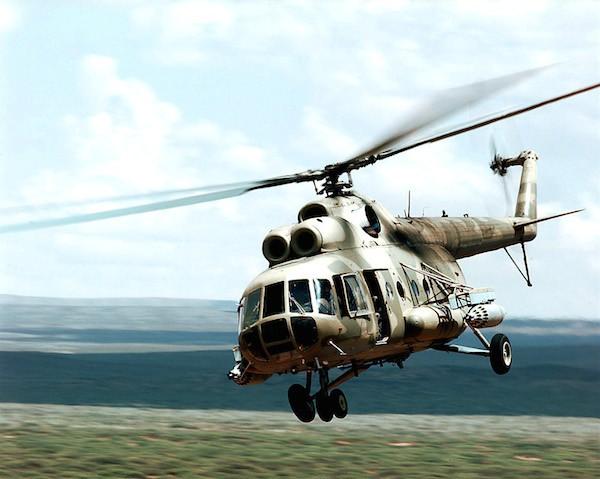 Trực thăng Mi-8 của Nga rơi, 4 người thiệt mạng ảnh 1