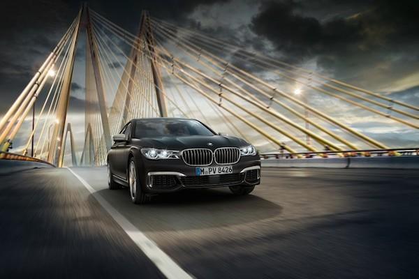 BMW M760i xDrive 2017 siêu sang trọng chính thức xuất hiện ảnh 5
