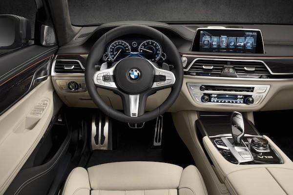 BMW M760i xDrive 2017 siêu sang trọng chính thức xuất hiện ảnh 2
