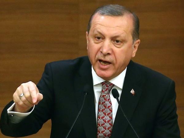 Tổng thống Thổ Nhĩ Kì Recep Tayyip Erdogan