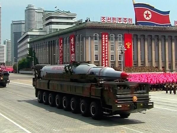 Tên lửa KN-08 được cho là có tầm bắn lên tới 10.000km
