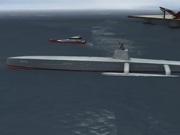 Chiếc tàu này sẽ hoạt động mà không cần sự điều khiển của con người