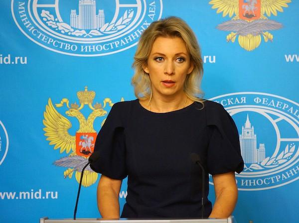 Đại diện Bộ Ngoại giao Nga, bà Maria Zakharova