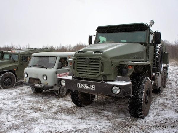 Quân đội Nga chuẩn bị nhận xe bọc thép Ural-VV mới