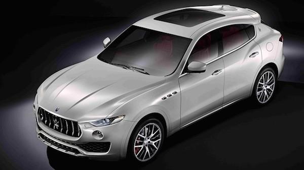 SUV hạng sang Maserati Levante chính thức lộ diện