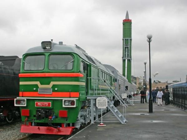 Tàu hoả Barguzin sẽ mang được 6 tên lửa RS-24 Yars