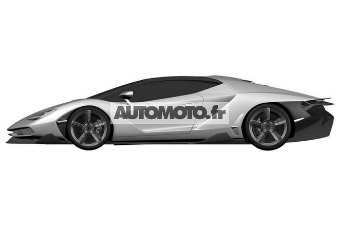 "Lamborghini Centenario LP 770-4 ""hầm hố"" lộ diện"