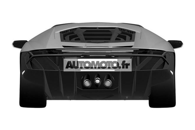"Lamborghini Centenario LP 770-4 ""hầm hố"" lộ diện ảnh 4"