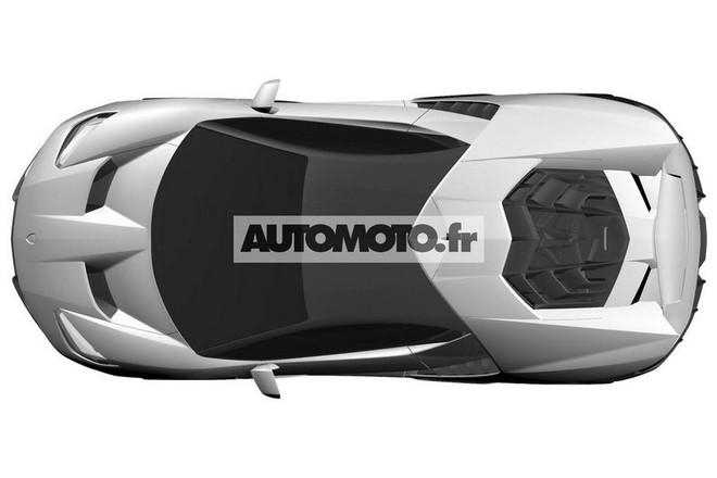 "Lamborghini Centenario LP 770-4 ""hầm hố"" lộ diện ảnh 6"