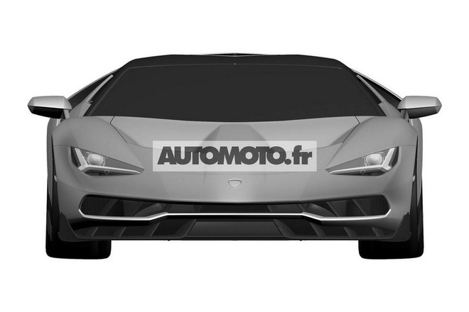 "Lamborghini Centenario LP 770-4 ""hầm hố"" lộ diện ảnh 3"