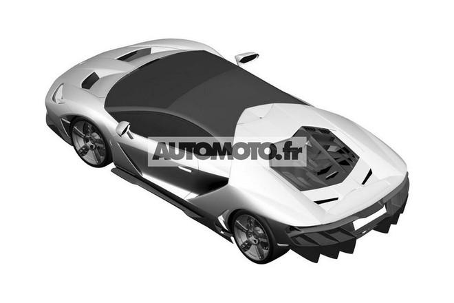 "Lamborghini Centenario LP 770-4 ""hầm hố"" lộ diện ảnh 5"