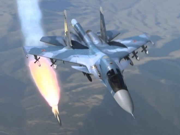 Chiến đấu cơ Nga và quân đội Syria đang tấn công mạnh ở ở Damascus và Latakia