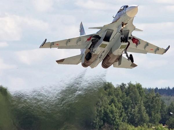 Máy bay Su-30SM của Nga