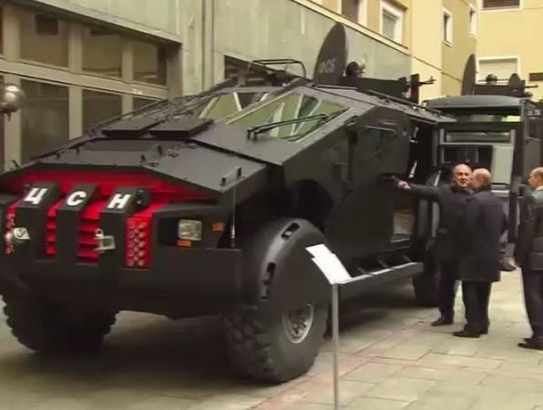 Chiếc xe mới của FSB có thể chở theo 10 người