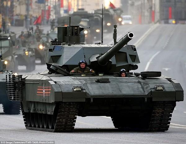 Xe tăng Armta T-14