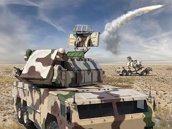 Hệ thống tên lửa phòng không tầm ngắn Tor-M2