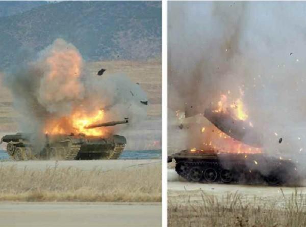Triều Tiên tung ảnh chứng minh sức mạnh của tên lửa chống tăng mới ảnh 2