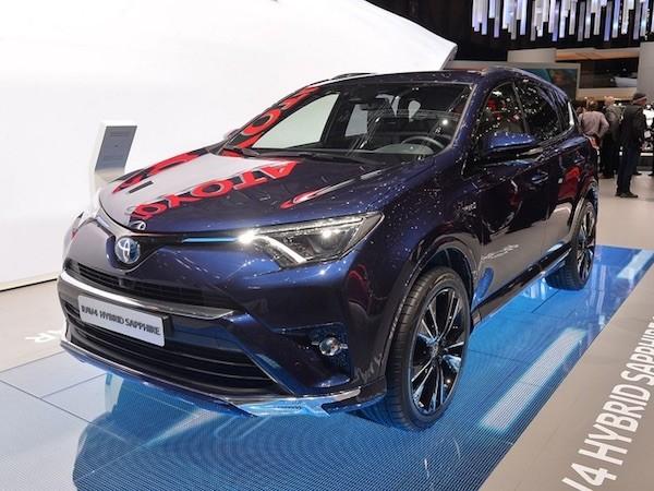 Toyota RAV4 Hybrid Sapphire concept tại Geneva Motor Show