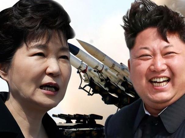 Tổng thống Hàn Quốc Park Geun-hye và nhà lãnh đạo Triều Tiên Kim Jong-Un