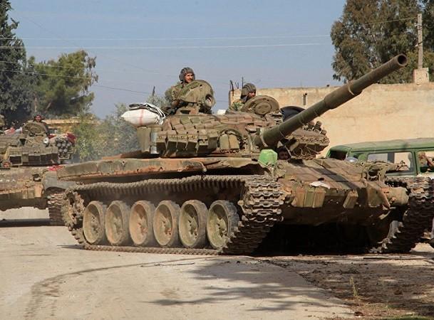Quân đội Syria vẫn đang không ngừng tiêu diệt khủng bố