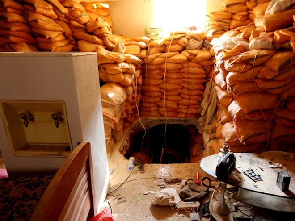 IS có mạng lưới đường hầm chằng chịt để lánh nạn và cất giấu vũ khí