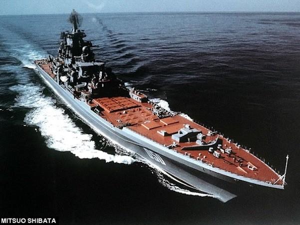 Kirov được cho là tàu tuần dương lớn nhất thế giới