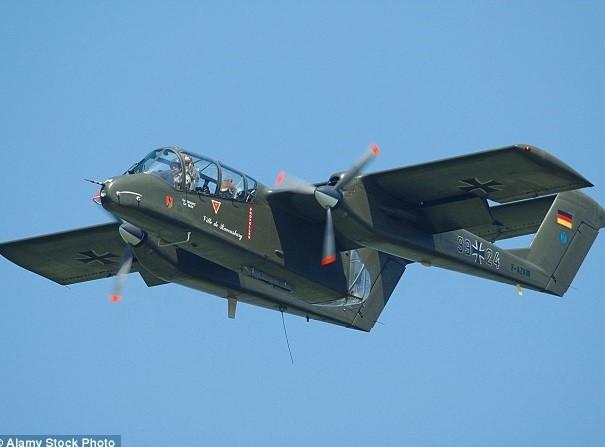 Máy bay Broncos của quân đội Mỹ