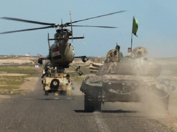 Quân đội Iraq vừa giành được một thị trấn từ tay IS